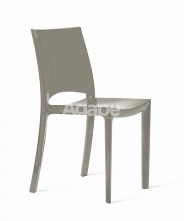 Sedia in Polipropilene Lucido Glaucia – Agapè Forniture