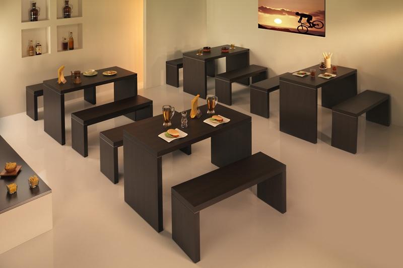 Agap forniture categorie prodotto tavoli bar e ristorante for Arredamento bar tavoli e sedie