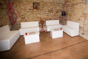 ambiente divanetto cm 120 bianco