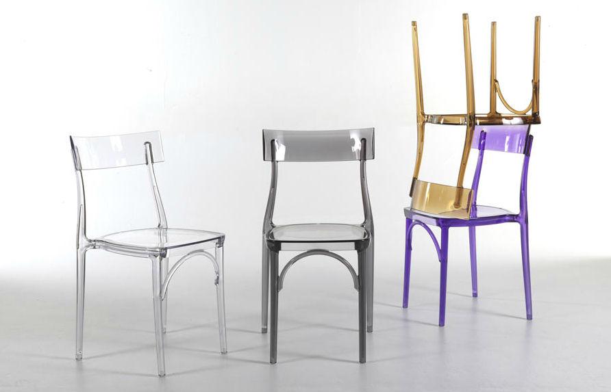 Sedie in policarbonato - Shopping Acquea