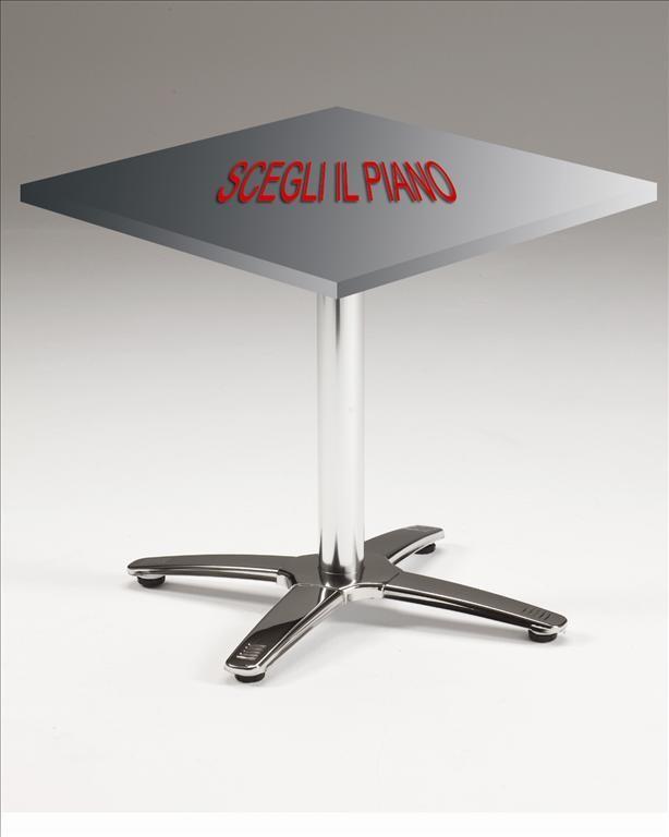 Agap forniture tavolo alluminio lucido silvano di - Tavolo agape scavolini prezzo ...