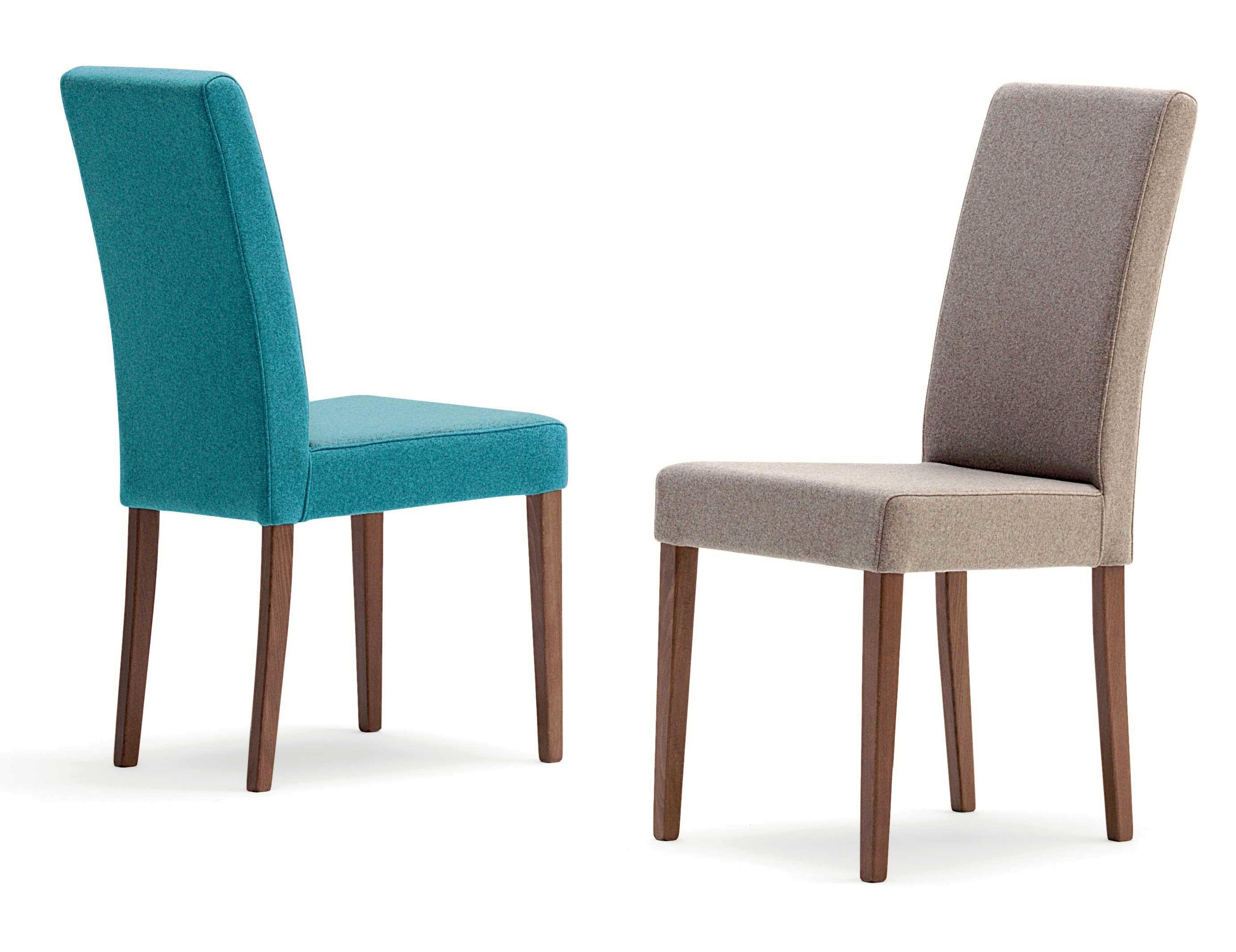 Sedie In Legno Imbottite : Flo sedia in legno con seduta imbottita u agapè forniture