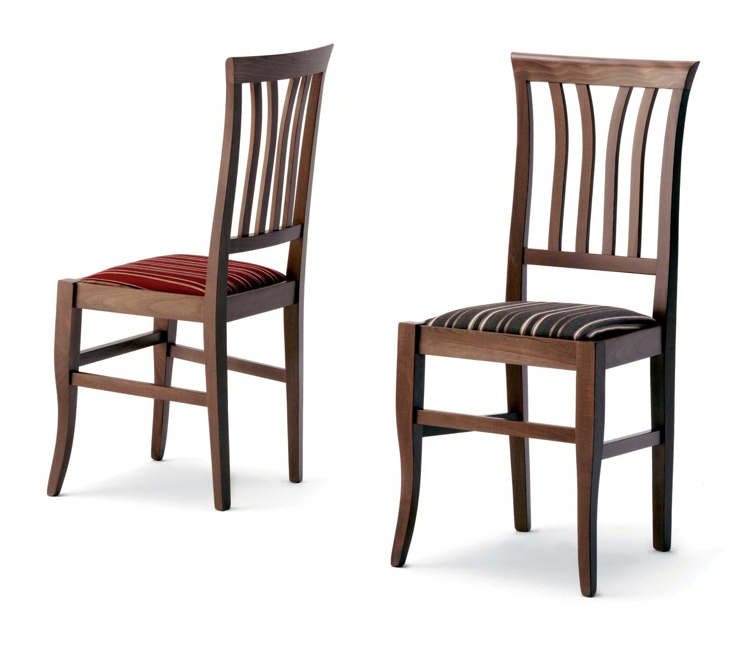 Sedie Di Legno Imbottite.Inglesina Sedia In Legno Con Seduta Imbottita Paglia O In Massello