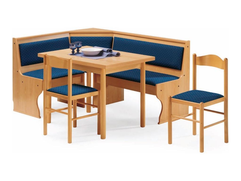 Panca Angolare Legno Sedile Schienale Imbottito 1 #1B4467 1024 768 Panca Ad Angolo Per Cucina Ikea