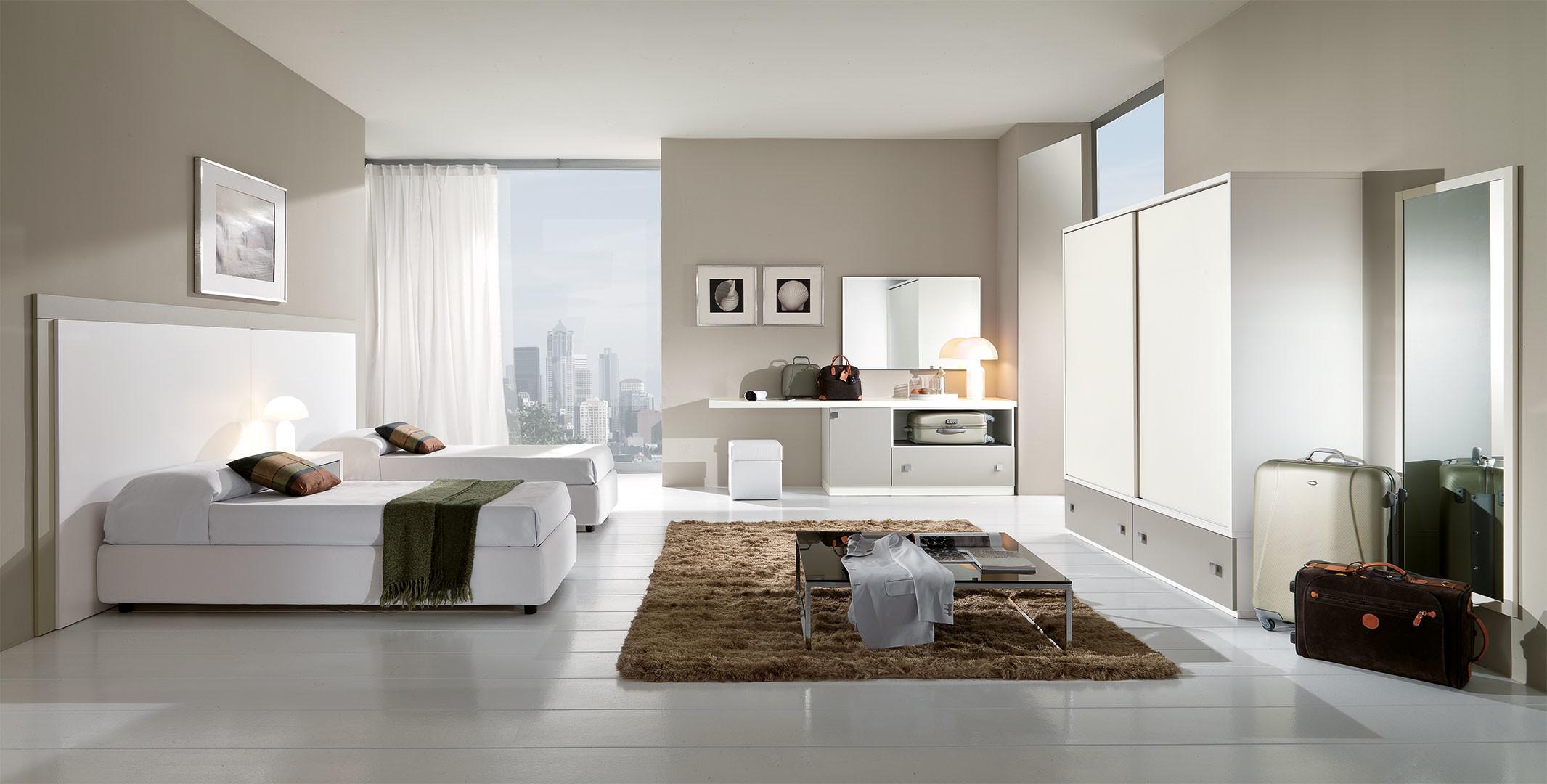 Camera moderna composizione 1 agap forniture for Arredo camere albergo