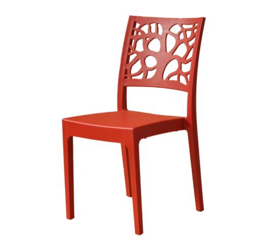 sedia Natura rossa