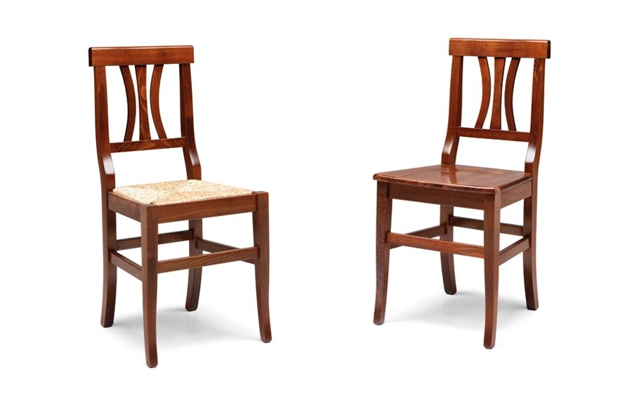 Sedie In Legno Arte Povera.Arte Povera 40s Sedia In Legno Agape Forniture