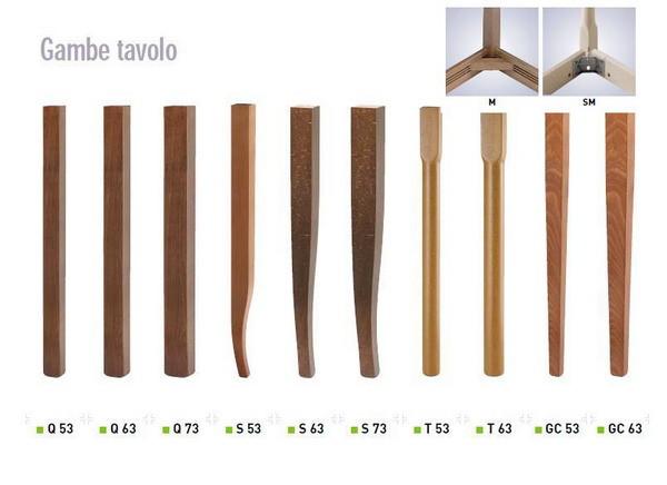 Gambe In Legno Per Tavoli.Tavolo Legno Di Faggio Cm 80x80x2 Poppea Agape Forniture