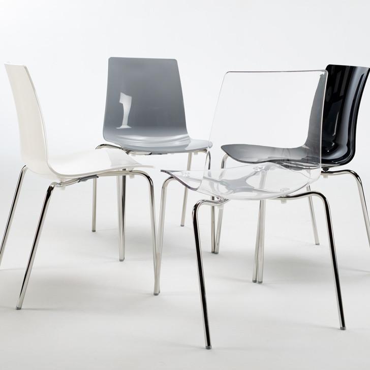 Marte sedia policarbonato agap forniture for Tavola e sedie