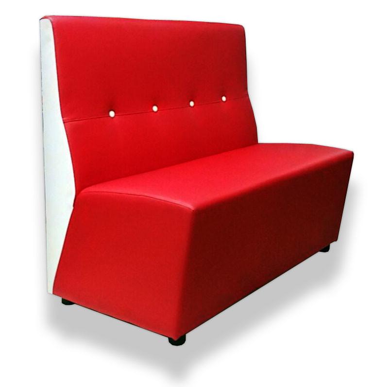 Telemaco divano cm 120 ecopelle agap forniture - Piccolo divano imbottito ...