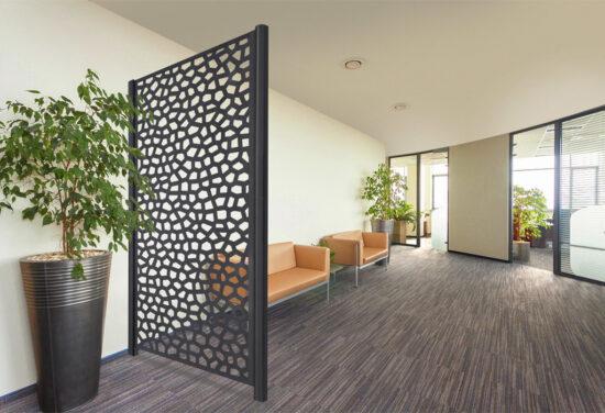 pannello decorativo antracite ambiente interno