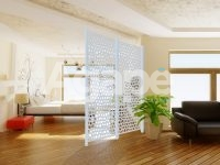 pannello decorativo bianco ambiente